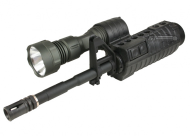 G&P M4 Front Set with Flashlight Grip