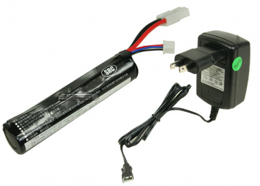 (Discontinued) SRC 7.4v 1000mAh LiPo Stick Battery Package ( Battery , Charger & Liposack )