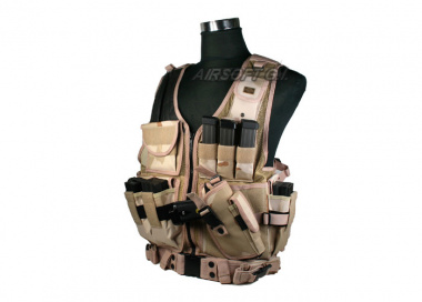 Tactical Crossdraw Vest ( Desert )