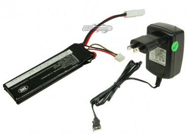 (Discontinued) SRC 7.4v 1000mAh LiPo Nunchuck Battery Package (Battery)