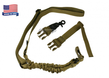 Condor Outdoor Double Bungee One Point Sling ( Tan )