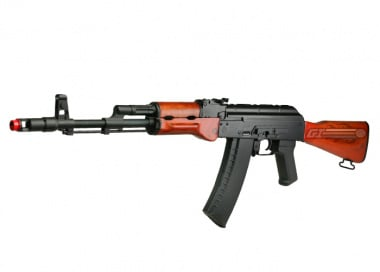 (Discontinued) Armory USA Full Metal / Wood AK74 AEG Airsoft Gun