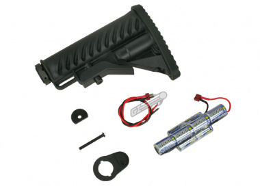 King Arms M4 Tactical Stock with 9.6v 1400mah Battery