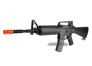 CA M15A4 Full Stock Carbine AEG Airsoft Gun ( Sportline / Value Package )