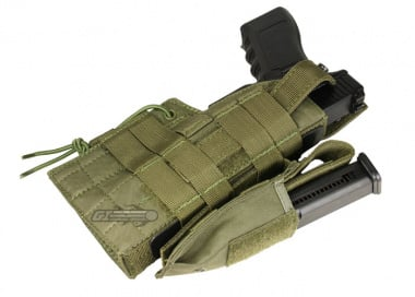 Condor Outdoor MOLLE Compatible Ambidextrous Holster for Glock ( OD )