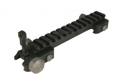 G&G High Riser Mount with Flip Up Sight for M4 / M16