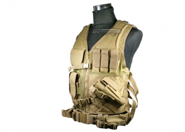 Condor / OE TECH Crossdraw Tactical Vest ( TAN )