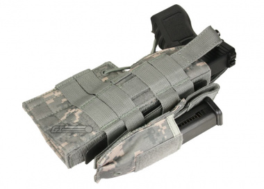 * Discontinued * Condor Outdoor MOLLE Compatible Ambidextrous Holster for Glock ( ACU )