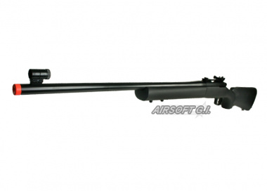 KJW Full Metal M700 Gas Powered Bolt Action Sniper Rifle Airsoft Gun ( BLK )