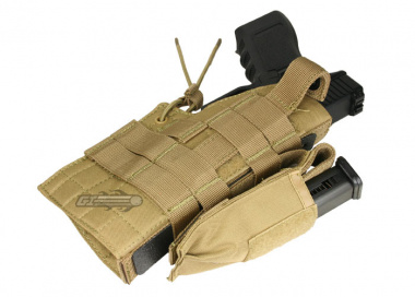 Condor Outdoor MOLLE Compatible Ambidextrous Holster for Glock ( TAN )