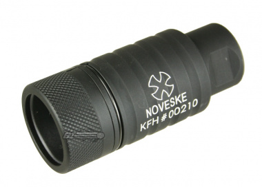 Madbull Noveske KFH Adjustable Amplifier Flash Hider CCW ( BLK )
