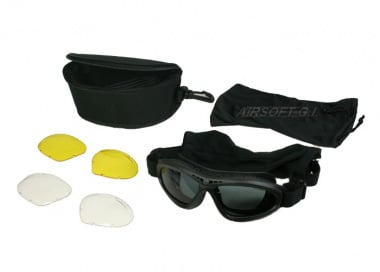 Revision Bullet Ant Goggle Deluxe Kit ( Blk )