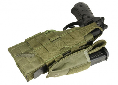 Condor Outdoor MOLLE Compatible Ambidextrous Holster for Beretta ( OD )