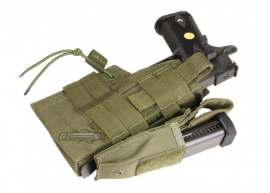 Condor Outdoor MOLLE Compatible Ambidextrous Holster for 1911 ( OD )