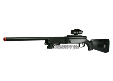 Double Eagles Full Metal M50 Pro Version 3 Bolt Action Sniper Rifle Airsoft Gun ( BLK )