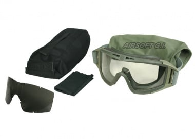 Revision Desert Locust Goggle Essential Kit ( FOLIAGE GREEN )