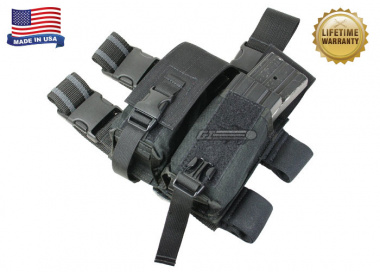 Specter 4 Mag Tactical Thigh Rig ( BLK )