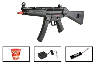(Discontinued) G&G PM5-A4 Airsoft Gun ( Battery / BBs / Charger Package / Original Plastic Series )