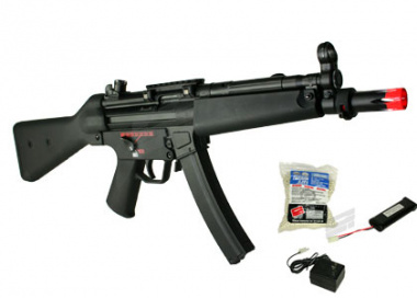 ( Discontinued ) G&G Full Metal PM5-A4 AEG Airsoft Gun ( Battery / BBs / Charger Package )