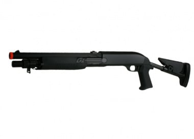 Double Eagle M3 Multi-Shot Spring Shotgun Airsoft Gun ( Retractable Stock )