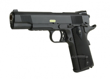 WE Full Metal 1911 Tactical Single Stack Latest Edition Airsoft Gun