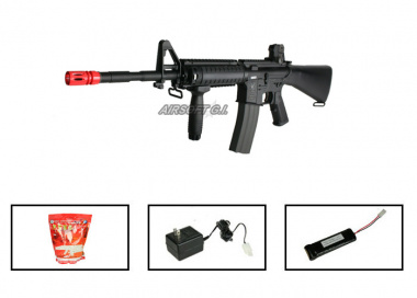 (Discontinued) G&G Full Metal GR-16 R4 Airsoft Gun ( Battery / BBs / Charger Package / M4-SPC )