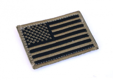 Condor Outdoor Velcro US Flag Patch ( TAN )
