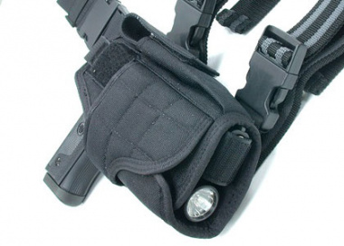 Condor Outdoor Tactical Tornado Leg Holster ( Black )