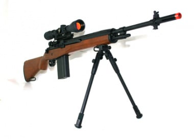 (Discontinued) X-Factor TSD M14 DMR Airsoft Gun (Wood)