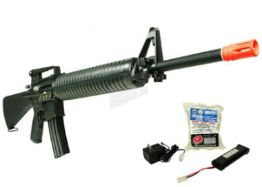 (Discontinued) TSD Tactical Gen II. Full Metal M16A4 Airsoft Gun ( Battery / BBs / Charger Package )