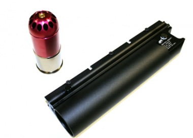 Mad Bull XM108HP High Power BB Grenade Shell w/ Long Launcher