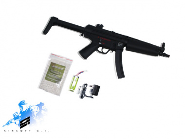 (Discontinued) Special Weapon Full Metal MK5 A5 AEG Airsoft Gun Package