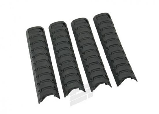 d boy armor rail cover 4 pk black. Black Bedroom Furniture Sets. Home Design Ideas