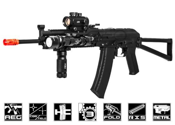 CYMA CM040K AK74 Tactical AEG Airsoft Rifle ( Black )