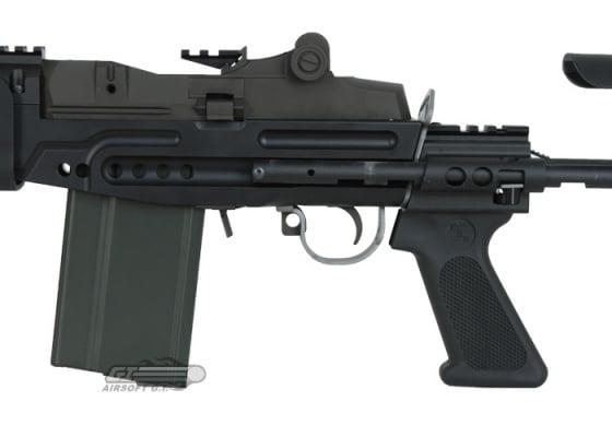 WE Full Metal M14 EBR GBB Rifle Airsoft Gun ( Black )