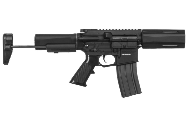 Krytac Alpha SDP M4 Carbine AEG Airsoft Rifle ( Black )