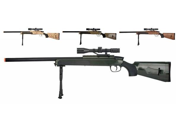 Lancer Tactical Mk51 Bolt Action Airsoft Sniper Rifle