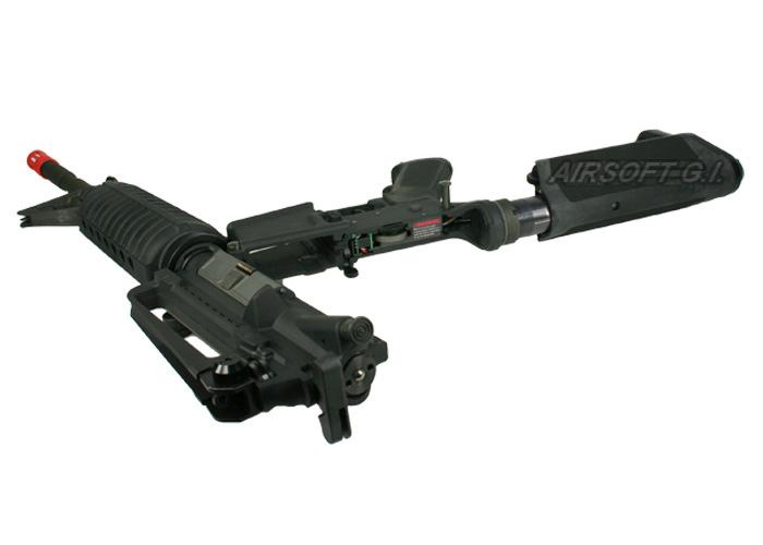 Systema PTW M4-A1 MAX Carbine AEG Airsoft Rifle (Black)
