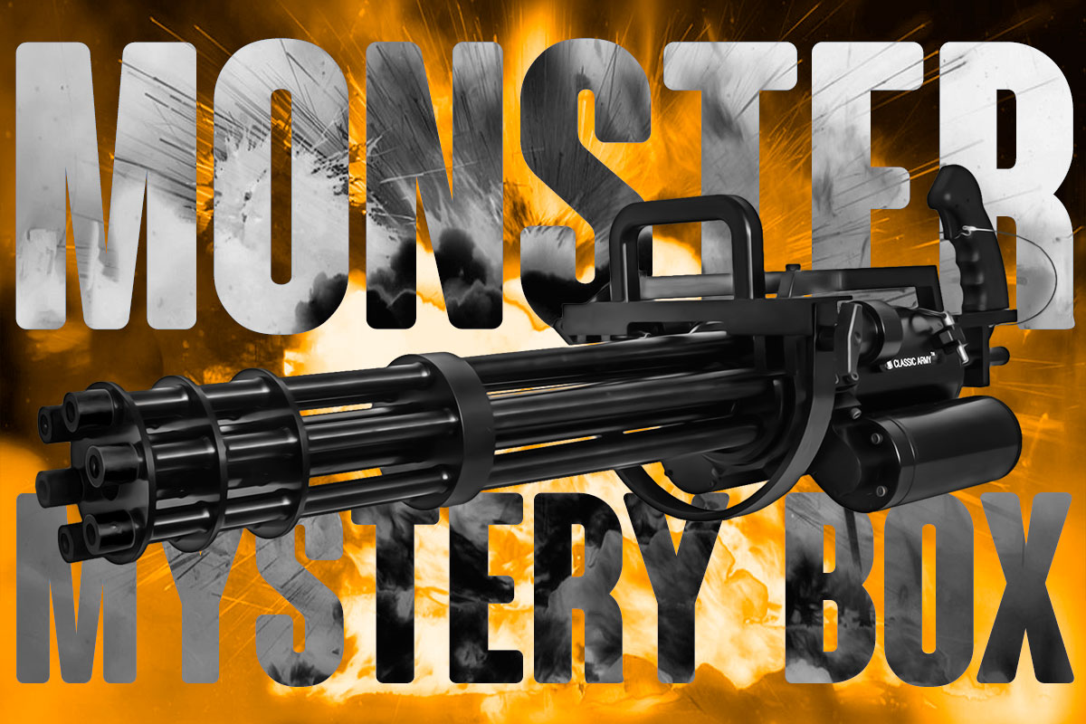 Airsoft GI Monster Airsoft Gun Mystery Box feat. $3840 Grand Prize