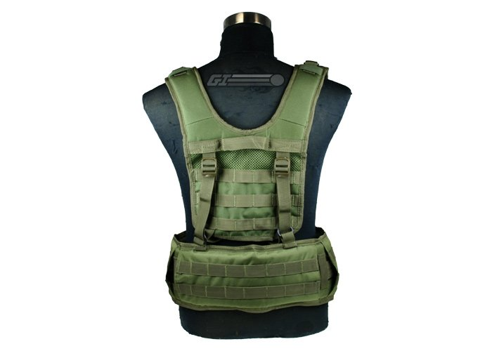 Condor Outdoor H Molle Harness ( OD Green )