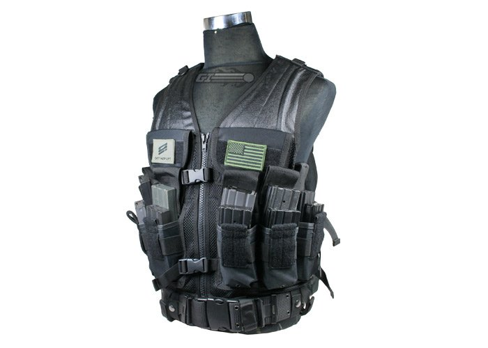 Condor Outdoor Elite Tactical Vest (Black)