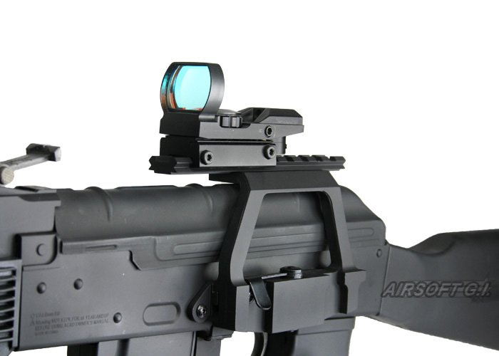 Airsoft Upper Receiver Cover with Top Rail Scope Mount For CYMA Tokyo Marui AK