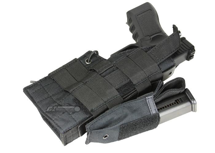 Condor H-Glock Ambidextrous Holster Black H-Glock-002 MOLLE PALS