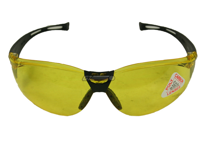 Bushnell-clip-shooting-glasses-Yellow-lenses- | eBay