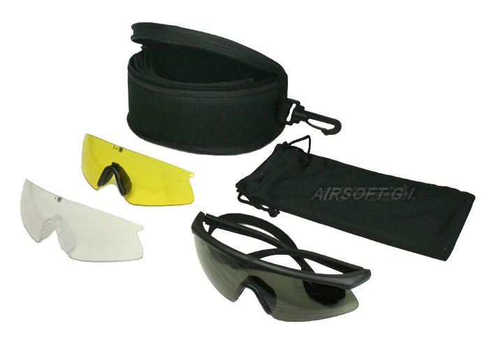revision sawfly shooting glasses deluxe kit regular frame