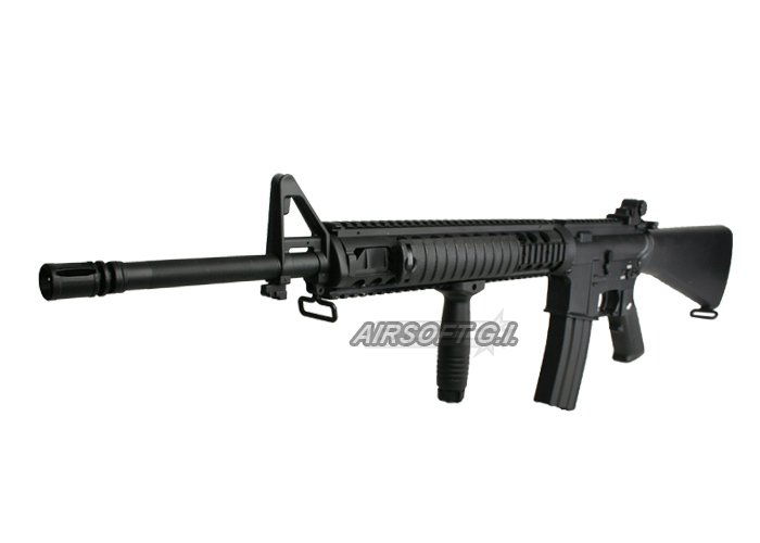m 16 rifle. Aamp;K Full Metal M16-A4 SPR