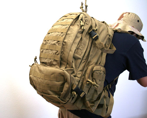 Condor Outdoor 3 Day Assault Pack Tan By Condor